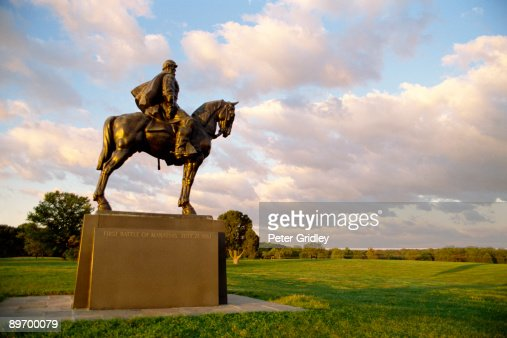 Statue Of Stonewall Jackson Manassas National Battlefield ...
