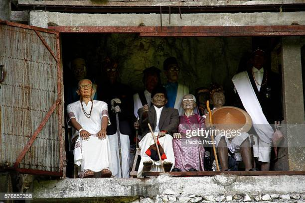 Statue of tautau is very similar to the person who has died and his body was buried in Londa Sandan Uai Village District Sanggalangi Toraja