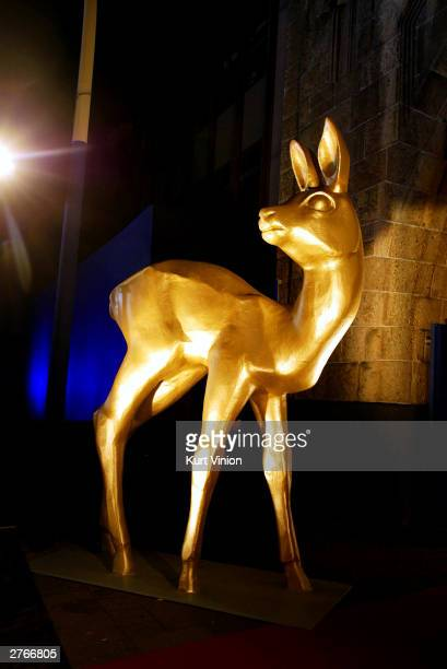A statue of The Bambi Awards on November 27 2003 in Hamburg Germany