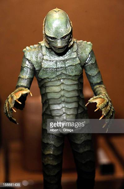 Statue of The Creature From The Black Lagoon at Son Of Monsterpalooza held at Burbank Marriott Airport Hotel Convention Center on October 27 2012 in...