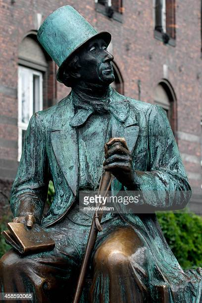 Statue of the famous Danish author Hans Christian Andersen