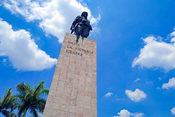"""Statue of the Famous Ernesto """"El Che"""" Guevara, an Argentine Revolutionary Guerrilla who Fought Against Oppression of Latin America"""