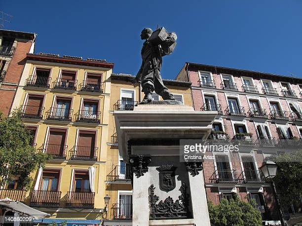 Statue of the soldier and war hero in Cuba Eloy Gonzalo who is known as Cascorro erected in the center of the square that bears his name and that is...