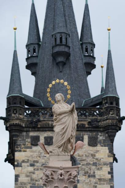 CZE: A Statue Of The Virgin Mary Returns As Replica To Prague