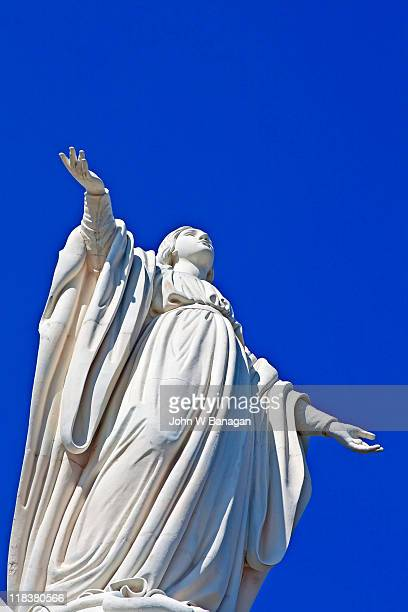 Statue of the Virgin Mary, Santiago,Chile