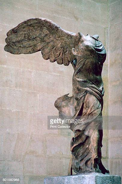 Statue of the winged Nike of Samothrace from the Louvre's collection 2nd century BC