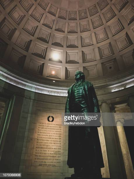 Statue of Thomas Jefferson in Washington D.C.