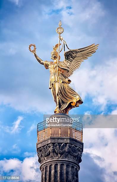 Statue of Victoria, Siegessaule Tiergarten Berlin