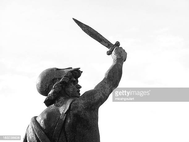 statue of victory - classical greek style stock pictures, royalty-free photos & images