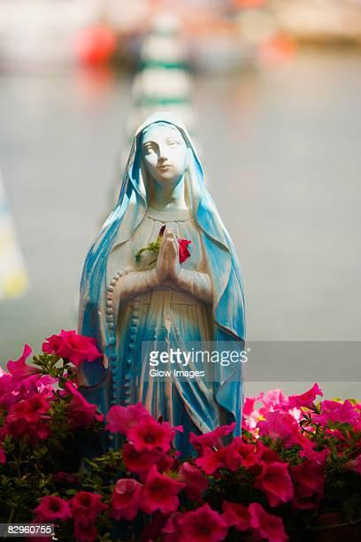 Statue of Virgin Mary, Sorrento, Sorrentine Peninsula, Naples Province, Campania, Italy