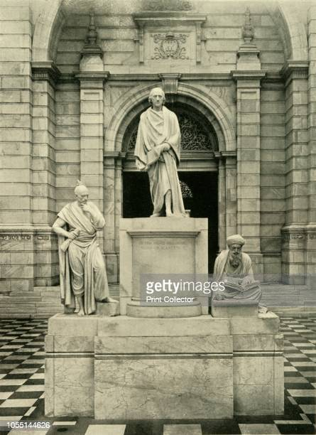 Statue of Warren Hastings' 1925 From British Government in India Volume Two by Lord Curzon of Kedleston [Cassell and Company Ltd London New York...