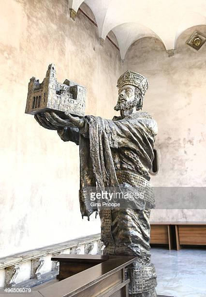 Statue of William II, Monreale.