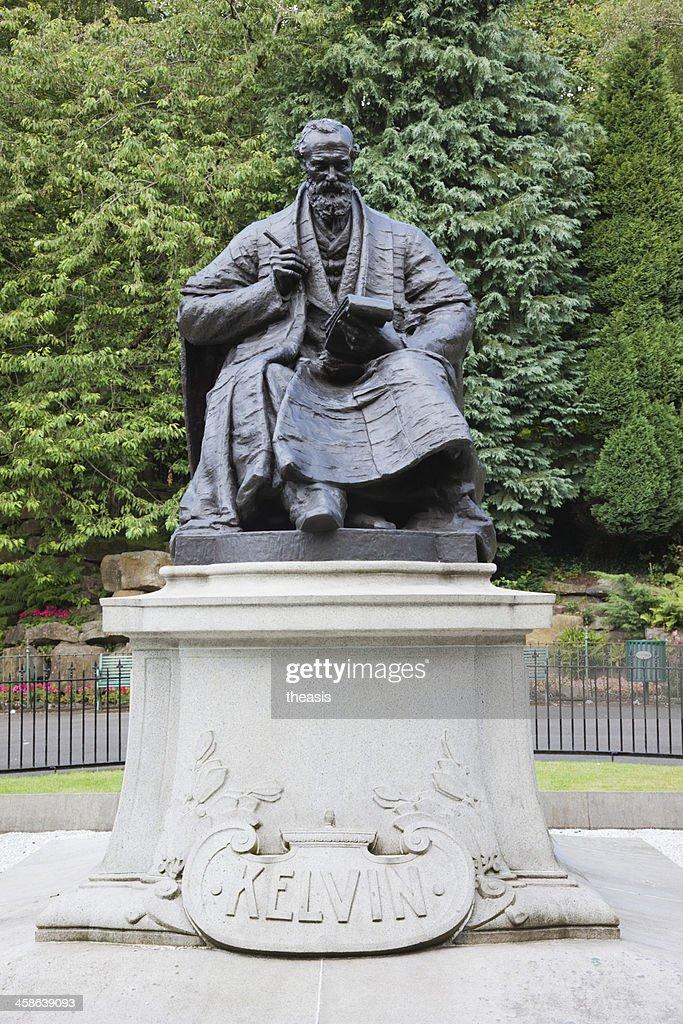 Statue of William Thompson, Lord Kelvin : Stock-Foto