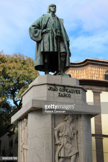 Statue of Zarco, founder of Madeira