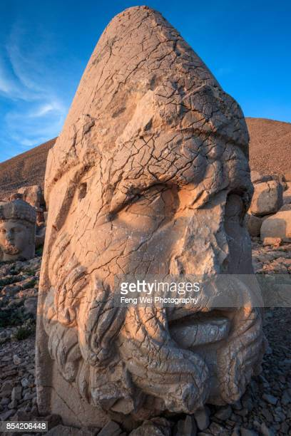 Statue Of Zeus, Tomb of King Antioch I of Commagene, Mount Nemrut, Turkey