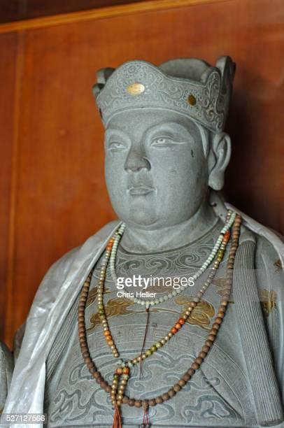 Statue of Zheng He in Malaysian Temple