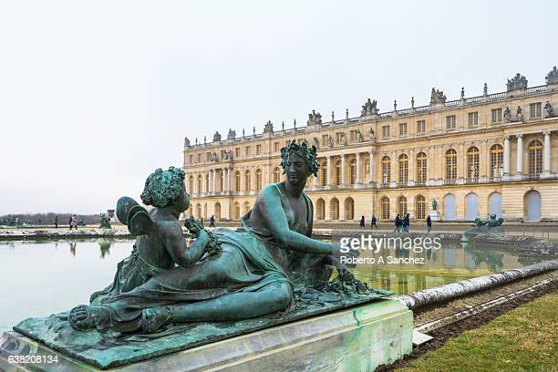 Statue on the Water Parterre Versailles