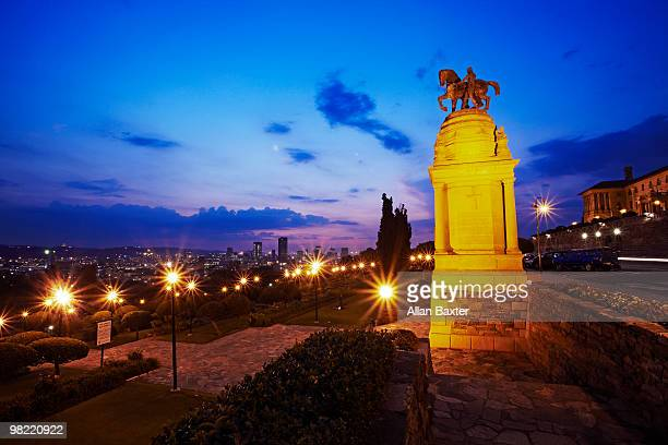 statue - pretoria stock pictures, royalty-free photos & images