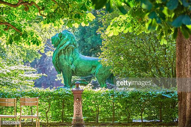 Statues at Luxembourg Gardens