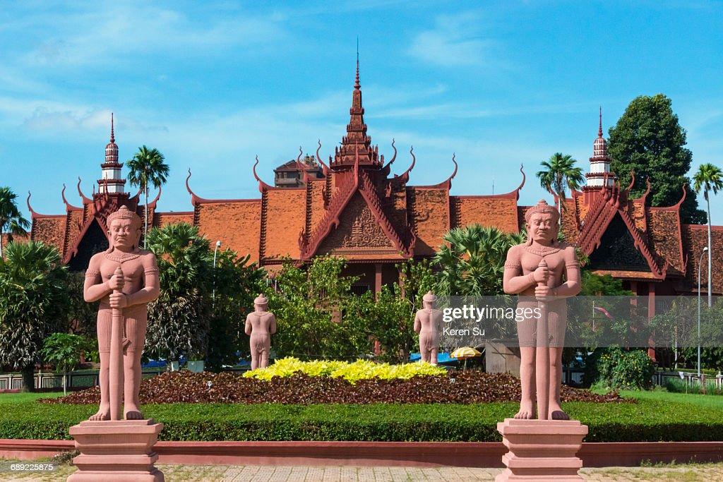 Statues at Royal Palace : Stock Photo