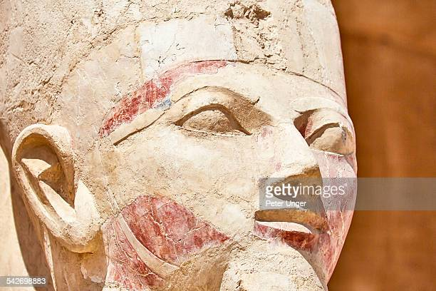 Statues at The Mortuary Temple of Queen Hatshepsut