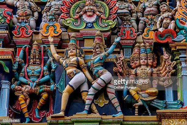 Statues from Madurai Meenakshi Amman Temple