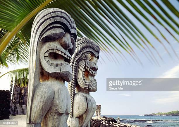 Statues in Hawaii