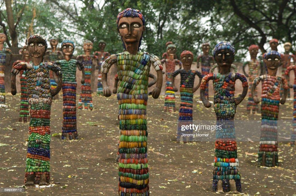 Statues in Nek Chand's Rock Garden