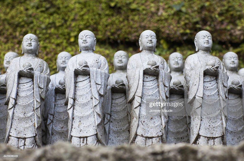 Statues, Kamakura, Japan : Stock Photo