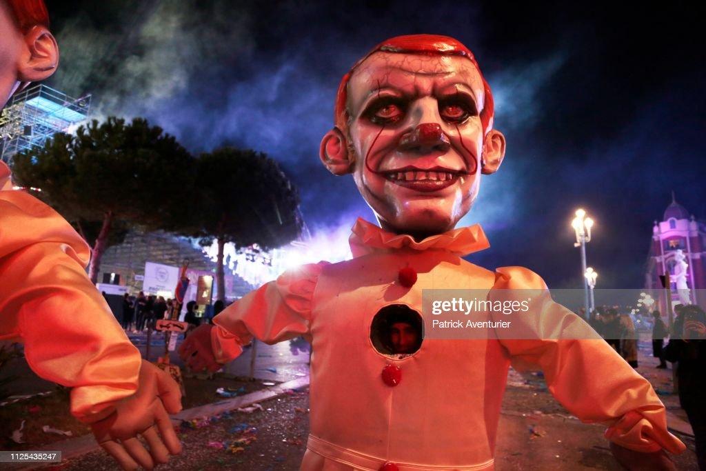 'King Of Cinema' Carnaval In Nice : Fotografia de notícias