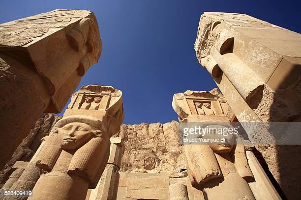 Statues of Goddess Hathor