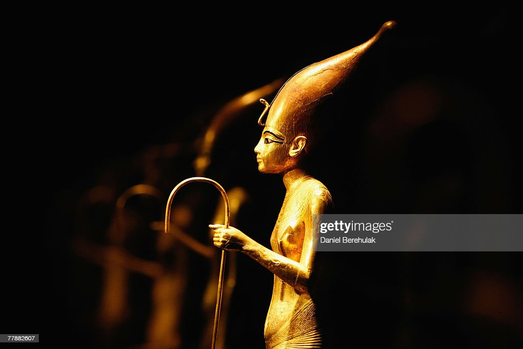 Tutankhamun & The Golden Age Of The Pharaohs' Exhibition - Press View : News Photo