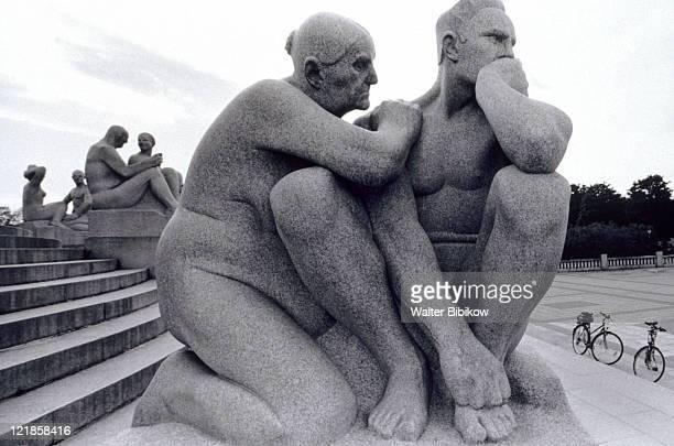 Statues, Vigelands Park, Oslo, Norway