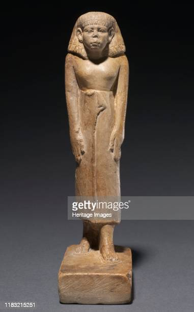 Statuette of a Man circa 18591648 BC These two statuettes 198398 and 1985136 come from very different periods in Egyptian art and reflect the times...
