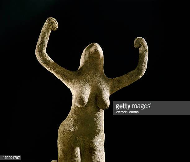Statuette of a woman Bird deity Egypt Ancient Egyptian Predynastic before 3000 BC