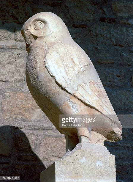 Statuette of an owl sacred to Athena from her sanctuary on the Acropolis