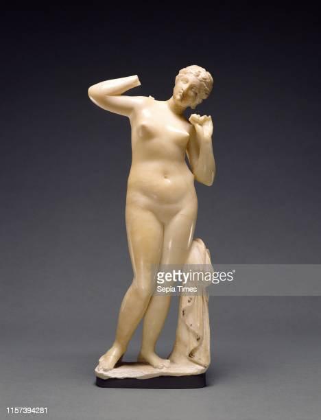 Statuette of Venus. Unknown. Egypt. Africa. 1st century B.C. Alabaster. Object: H: 30.5 cm .