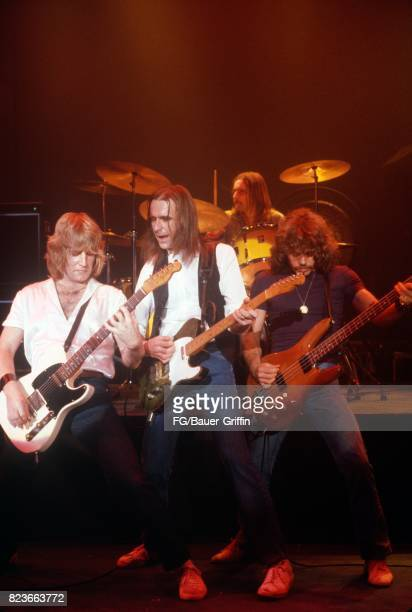Status Quo in London on December 16 1983 in London United Kingdom 170612F1