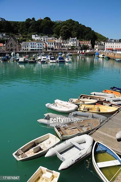 St.Aubin harbour, Jersey.