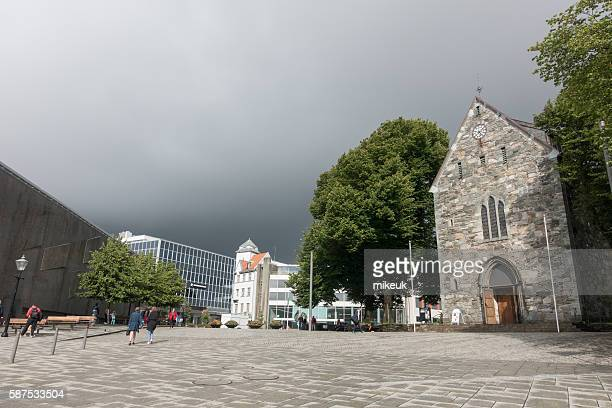 Stavanger Norway city centre view