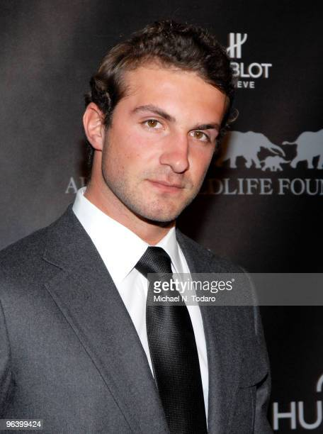 Stavros Niarchos attends the 2010 African Wildlife Foundation auction dinner at the American Museum of Natural History on February 3 2010 in New York...