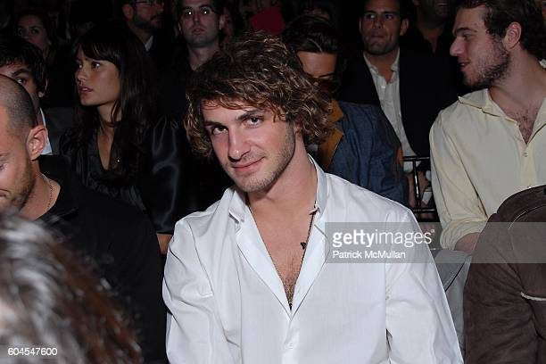 Stavros Niarchos attends Victoria's Secret Fashion Show Front Row at Kodak Theatre on November 16 2006 in Hollywood CA