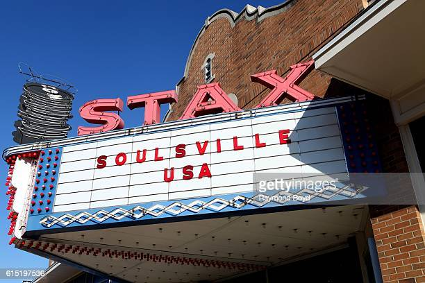 Stax Museum of American Soul Music in Memphis Tennessee on October 3 2016