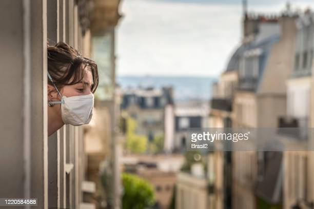 stay at home quarantine - france stock pictures, royalty-free photos & images