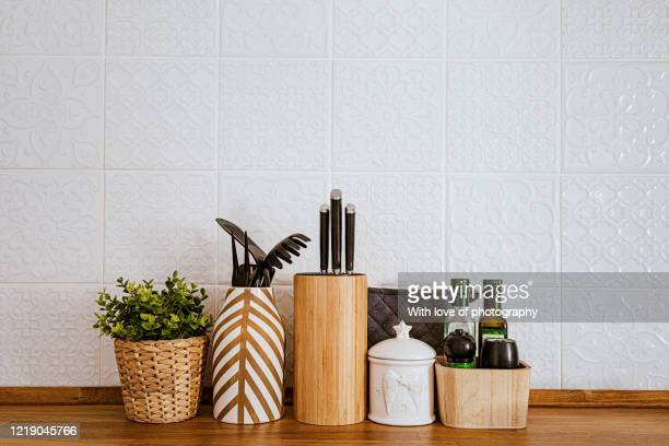 stay at home still life in the kitchen, every day kitchen objects, covid-19 still life, home office on quarantine , kitchen accessories - kitchen counter stock pictures, royalty-free photos & images