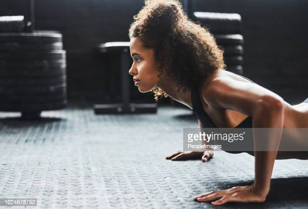 stay determined and do what's best for you - black female bodybuilder stock photos and pictures
