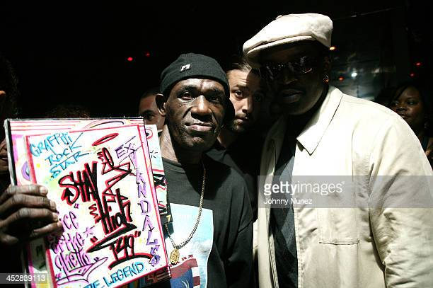 Stay High and Fab 5 Freddy during 4th Annual Tribeca Film Festival Just For Kicks After Party at Kos in New York City New York United States