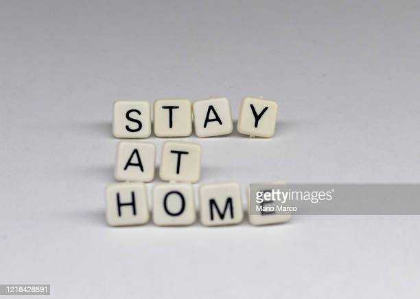stay-at-home order - covid icons stock pictures, royalty-free photos & images