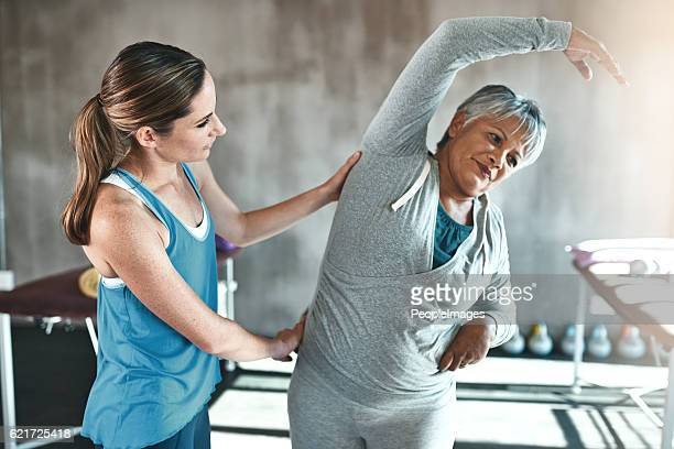 staying active is the antidote to aging - osteoporosis stock photos and pictures