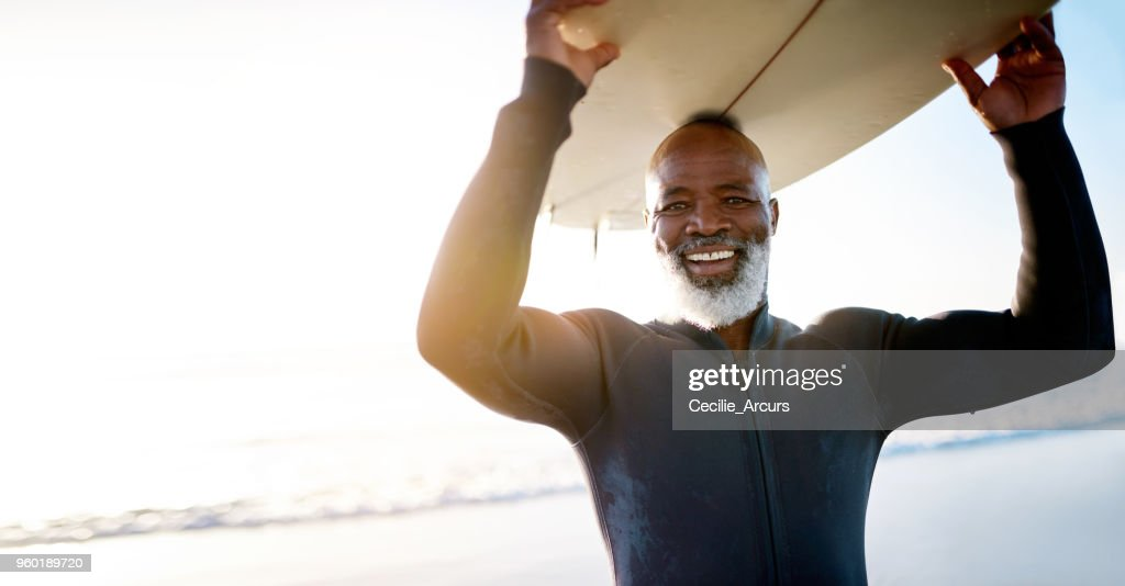 Staying active keeps the spirit young : Stock Photo